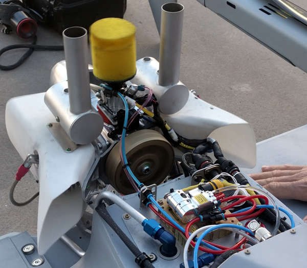 Power4Flight B100i UAV EFI Engine