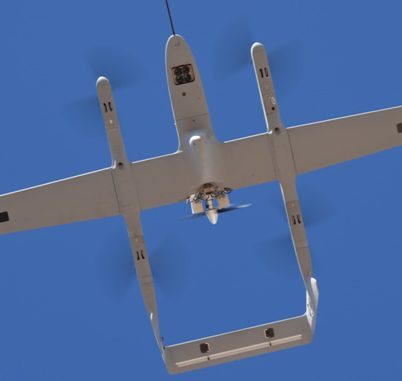 UAV with B100i EFI Engine