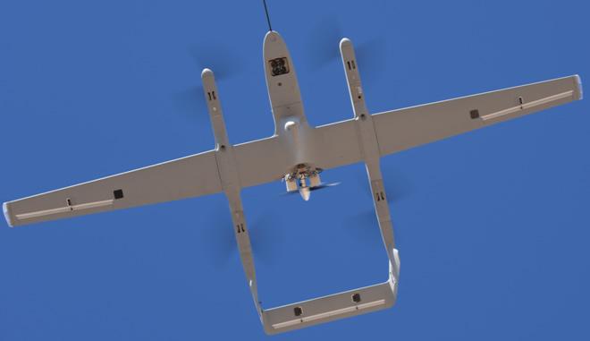 UAV with B100I EFI Engine