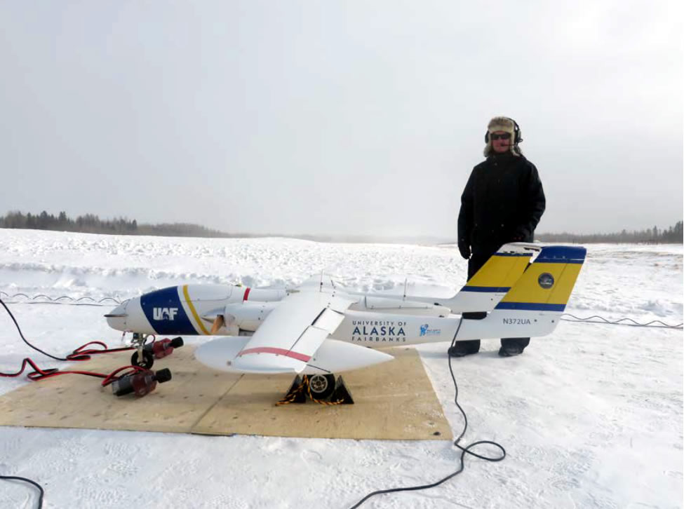 Griffon Aerospace SeaHunter Cruises at 15,000 ft. at -32C with Power4Flight Fuel Injection