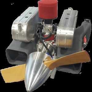 B100i UAV Fuel Injected Engine