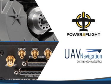 UAV Navigation Is Proud to Announce the Partnership with Power4Flight